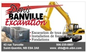 Denis banville Excavation programation