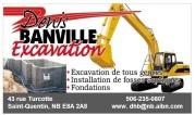 Denis banville Excavation programation