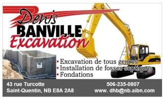 Denis banville Excavation